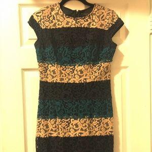 Ann Taylor short sleeve dress